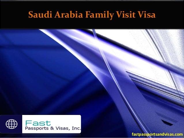 Saudi arabia family visit visa