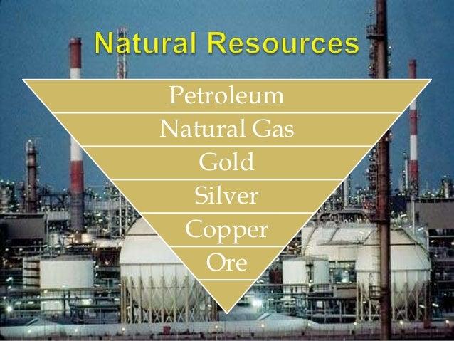 Main Natural Resources Of Saudi Arabia