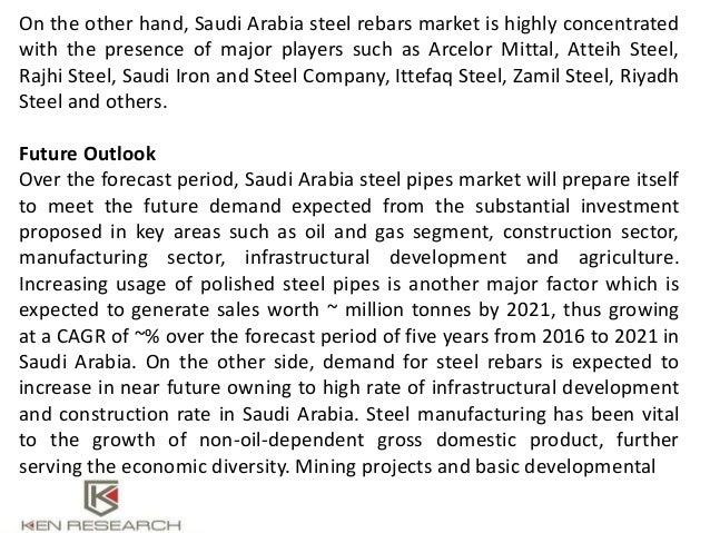 Saudi Arabia Steel Pipe Manufacturers, Imports Steel Rebars