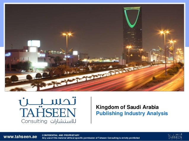 www.tahseen.ae CONFIDENTIAL AND PROPRIETARY Any use of this material without specific permission of Tahseen Consulting is ...