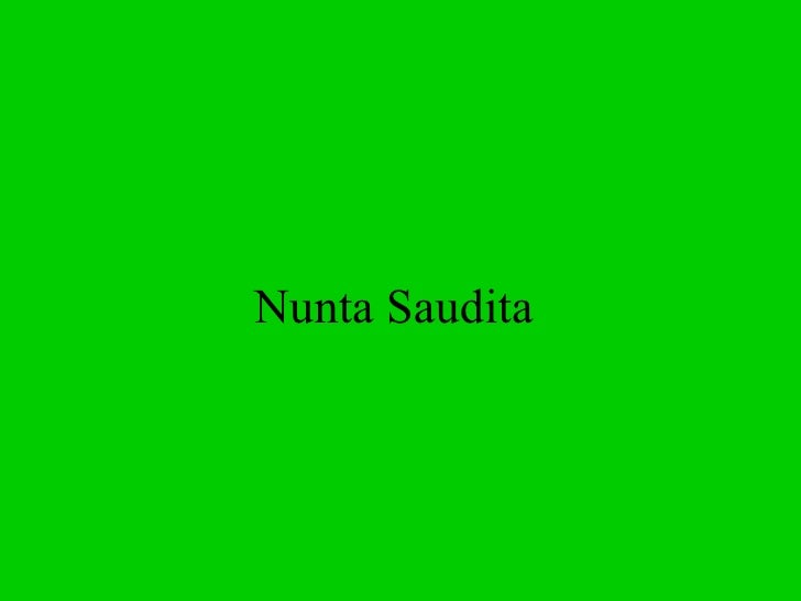 Nunta Saudita