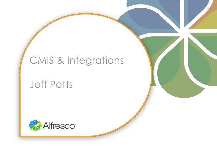 CMIS & IntegrationsJeff Potts<br />
