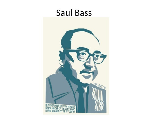 Saul Bass Research And Analysis