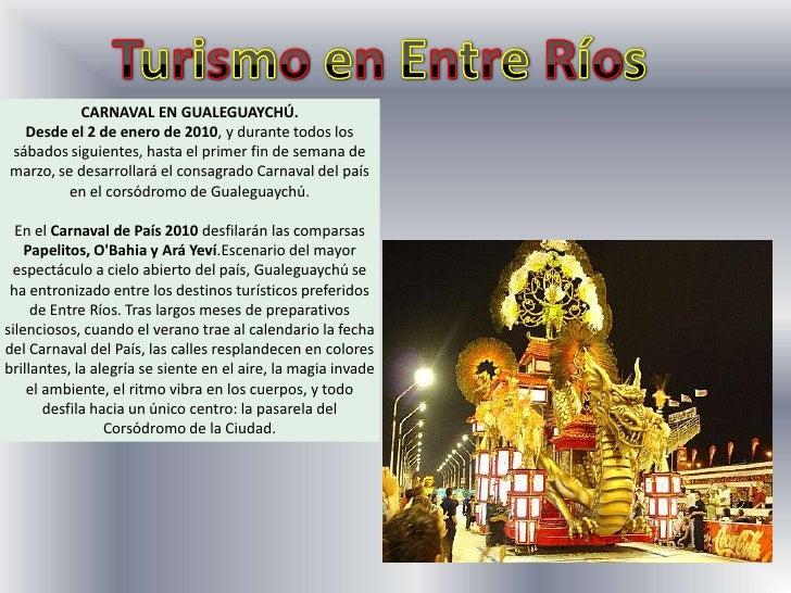 Turismo en Entre Ríos<br />