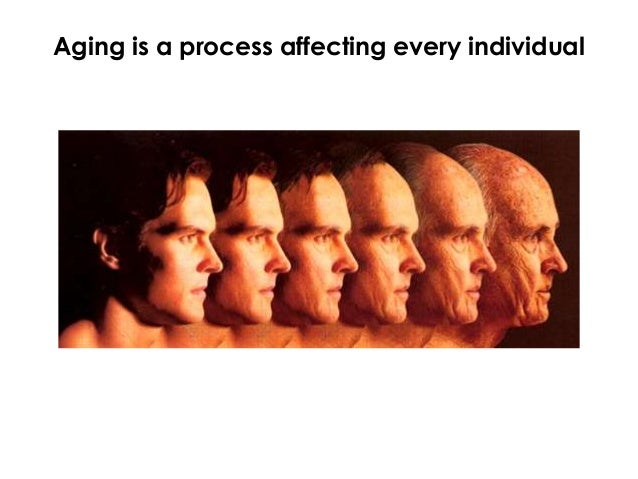 Aging is a process affecting every individual