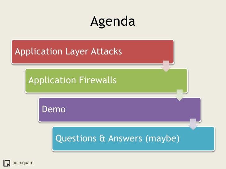 Application Layer Firewalls Slide 3