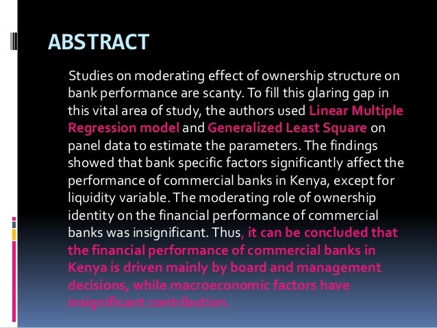 Evaluation of Financial Performance of the Banking Sectors ...