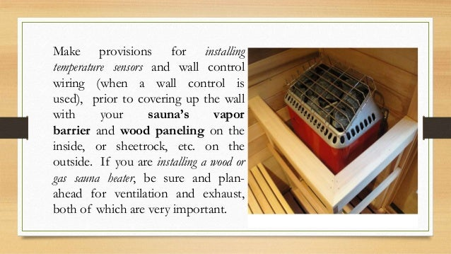Make provisions for installing temperature sensors and wall control wiring (when a wall control is used), prior to coverin...