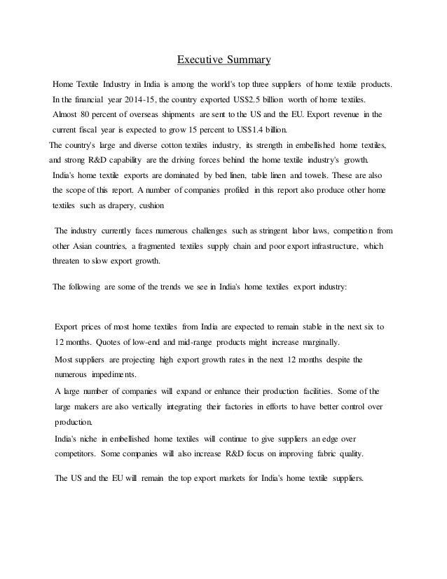 Saurabh internship report Welspun India Ltd, Mumbai TEXTILE
