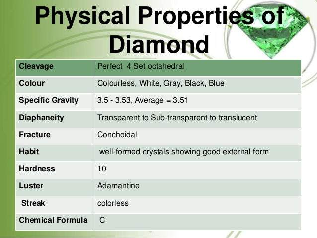 Physical Property Is Low In What