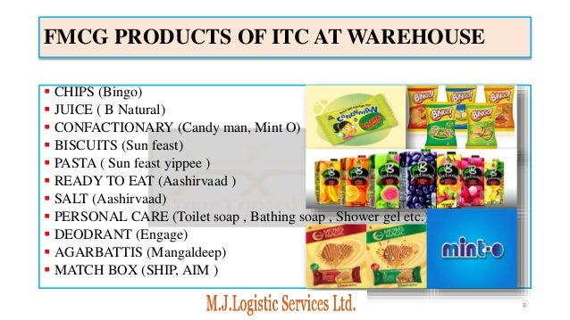 LOGISTIC SOLUTIONS FOR ITC