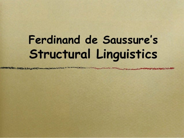 structuralism linguistics and t s eliot Its historical origins are in russian formalist criticism (viktor shklovsky, jan mukarovsky, ns troubetzkoy) and the linguistics of saussure in contrast with the psychological approach of the anglo-american 'new critics' ts eliot ('notes towards the definition of culture', 1948), ia richards (science and poetry, 1926 ),.
