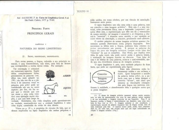 Saussure   curso de linguistica geral