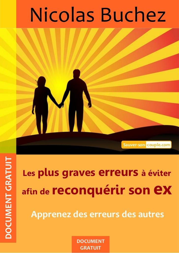 Nicolas Buchez                                            Sauver-son--couple.comDOCUMENT GRATUIT                   Les plu...