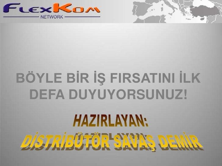 BÖYLE BİR İŞ FIRSATINI İLK DEFA DUYUYORSUNUZ!