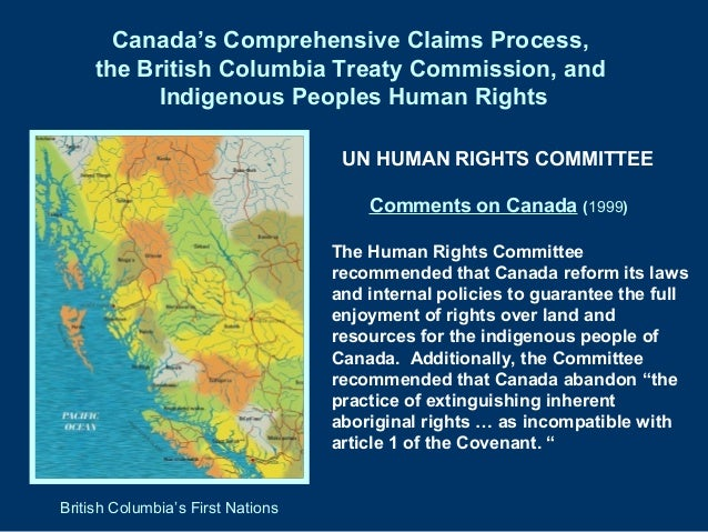The rights of indigenous people in international human rights law