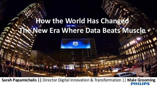 HOW THE WORLD HAS CHANGED  THE NEW ERA WHERE DATA BEATS MUSCLE - Phil…