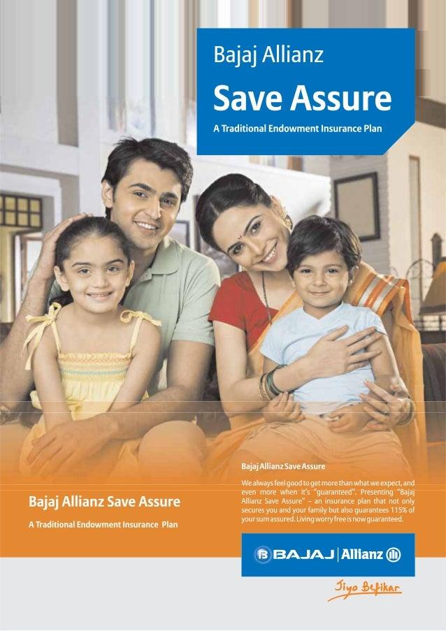 Bajaj Allianz Save Assure Life Insurance Plan