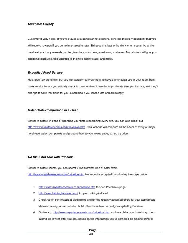 Save On Airfare Secrets Ebook