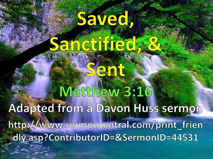 Baptism is about beginning anew