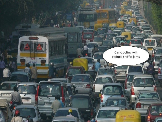 Reduce traffic jam essay
