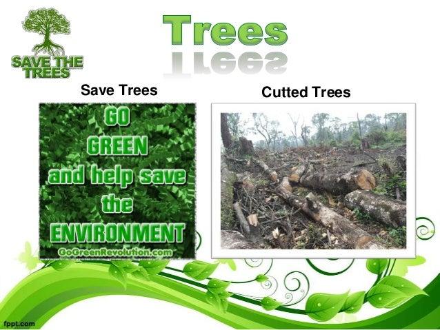 essay on save trees save nature