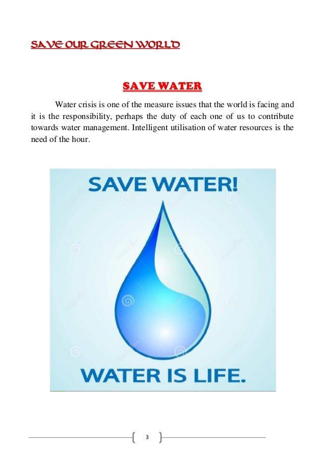 Save Green World