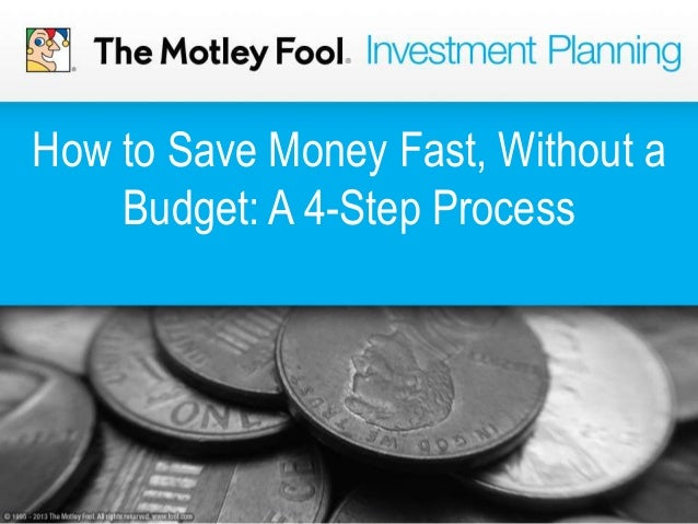 How to Save Money Fast, Without a Budget: A 4-Step Process