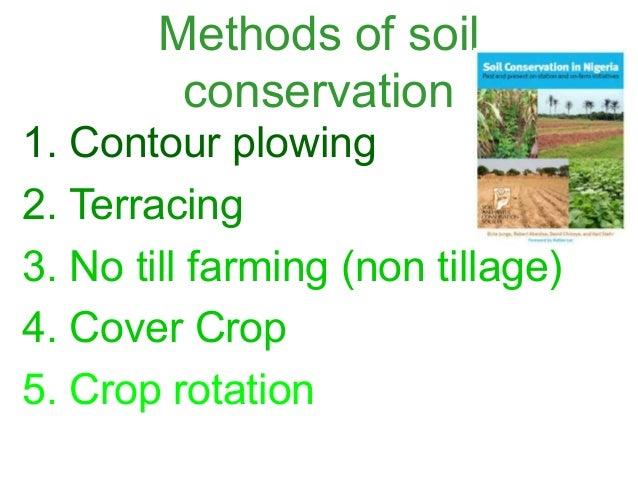 Save soil