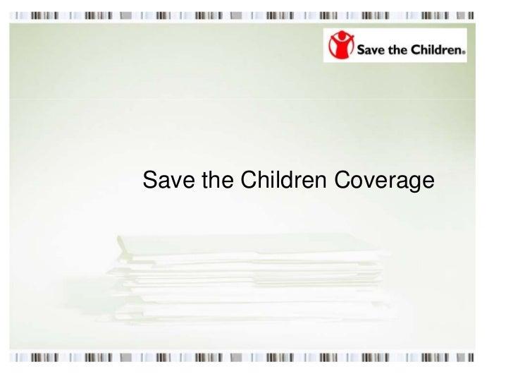 Save the Children Coverage