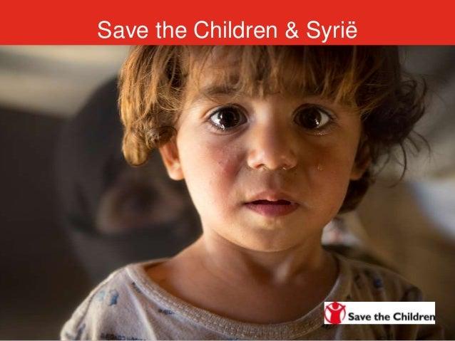 Save the Children & Syrië