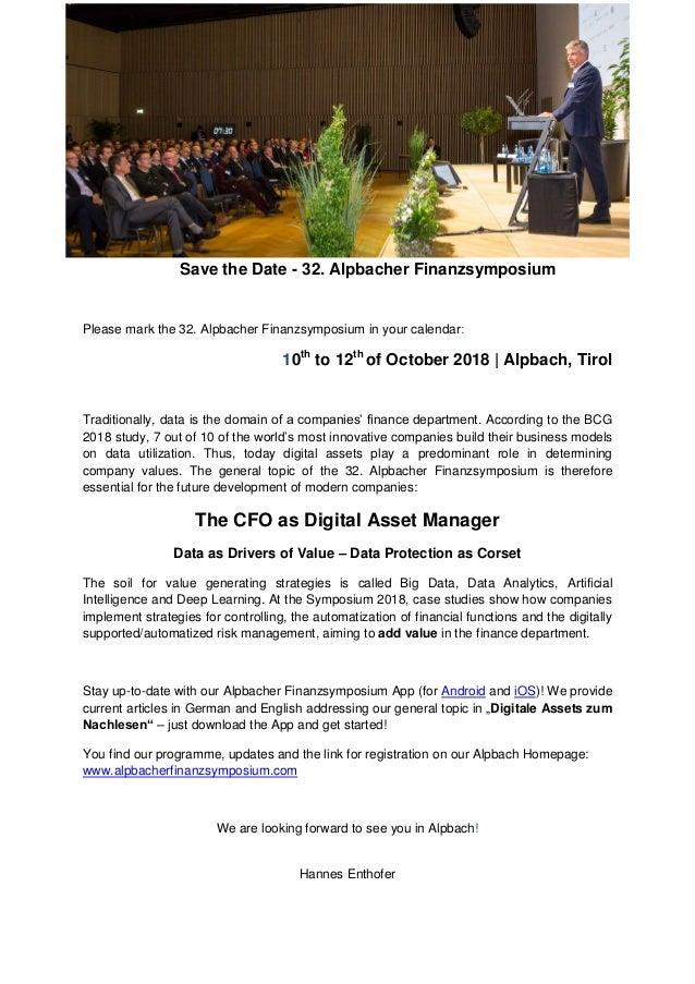 save the date 32nd alpbacher finanzsymposium
