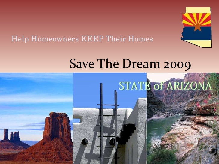 Save The Dream 2009<br />Help Homeowners KEEP Their Homes<br />