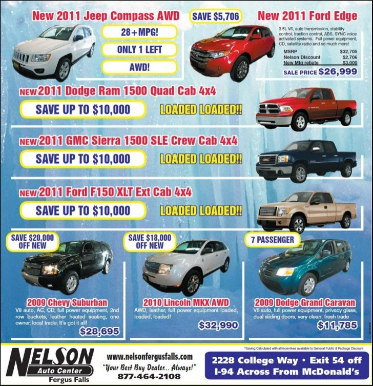 Save Thousands With Great Ford Jeep Dodge GMC Deals In Minnesota