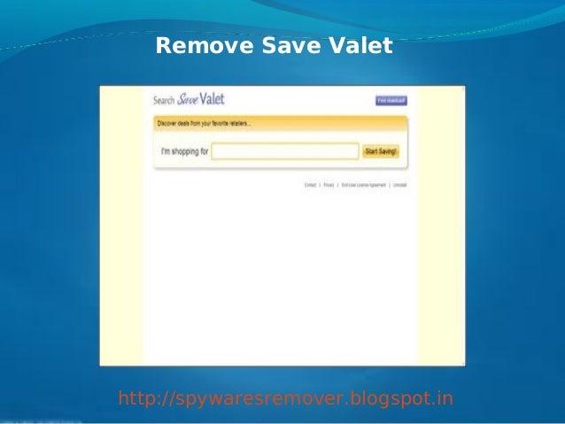 Remove Save Valethttp://spywaresremover.blogspot.in