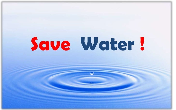 Save  Water !<br />