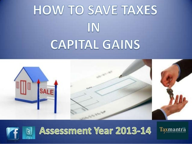 Save you capital gain taxes