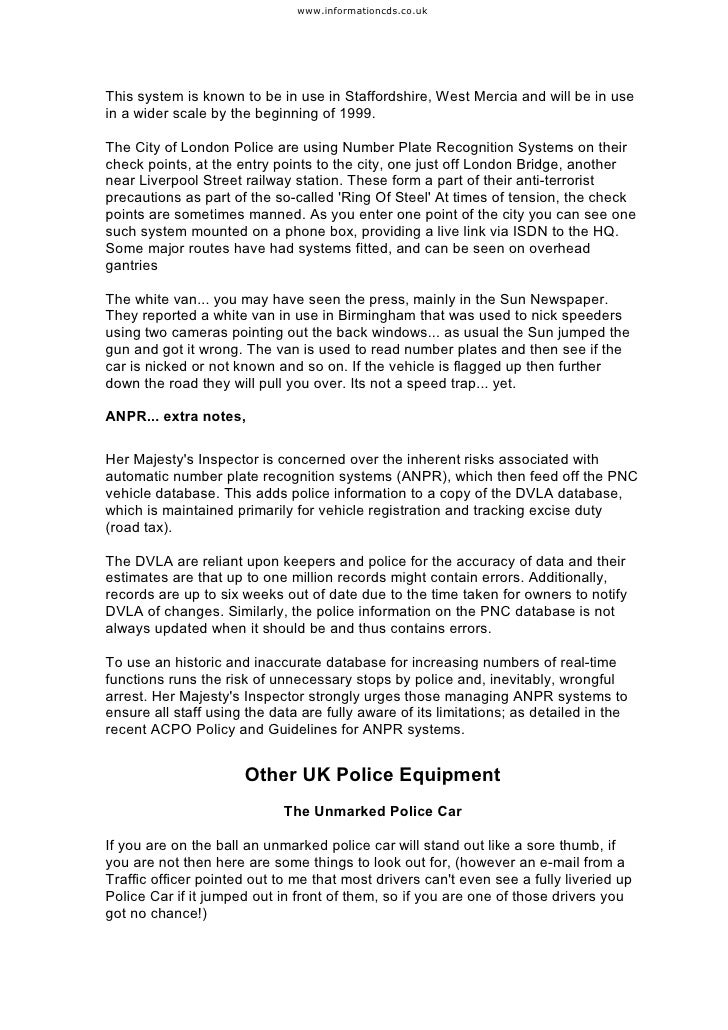 Free e-Book Save your driving licence UK Version