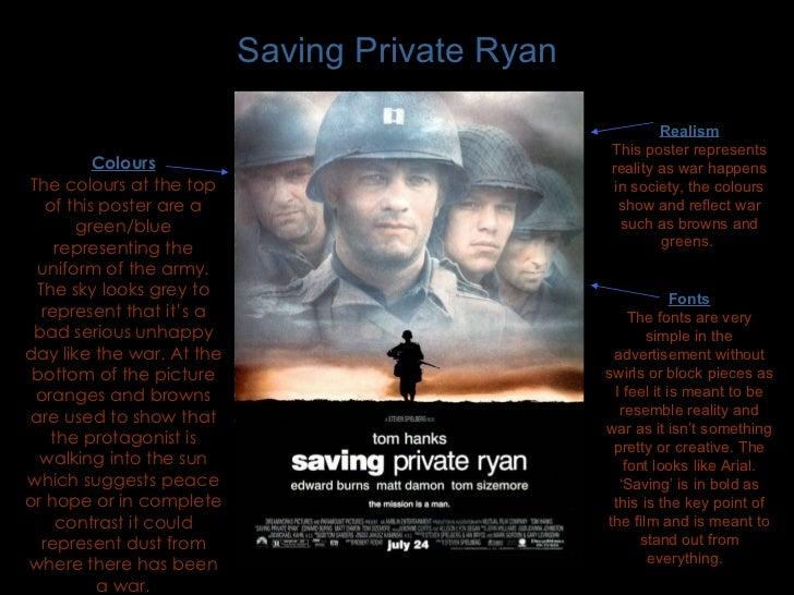 saving private ryan analysis saving private ryan realism