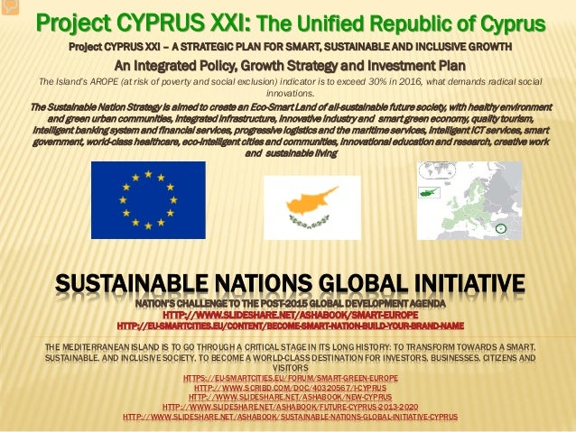 SUSTAINABLE NATIONS GLOBAL INITIATIVE NATION'S CHALLENGE TO THE POST-2015 GLOBAL DEVELOPMENT AGENDA HTTP://WWW.SLIDESHARE....