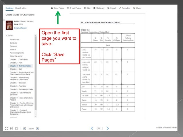 Saving e book pages in ebsco databases save a single page or multiple pages as a pdf ccuart Choice Image