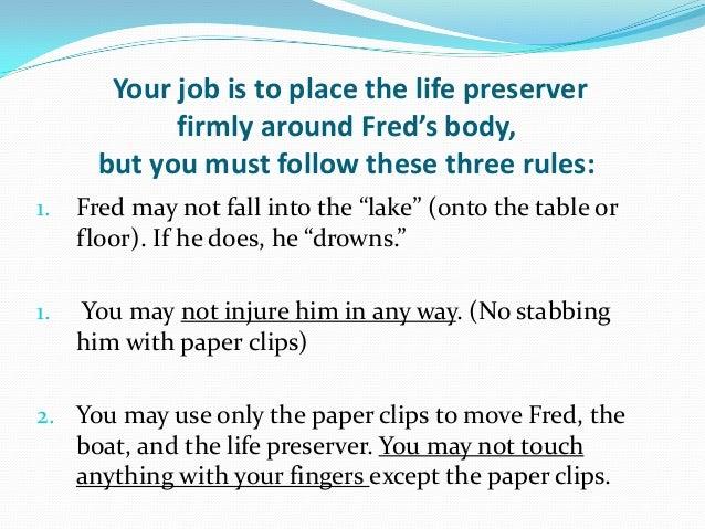 Saving Fred PowerPoint Saving Fred Saving Fred Worksheet #11