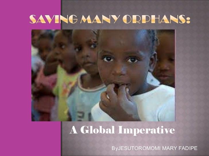 A Global Imperative ByJESUTOROMOMI MARY FADIPE