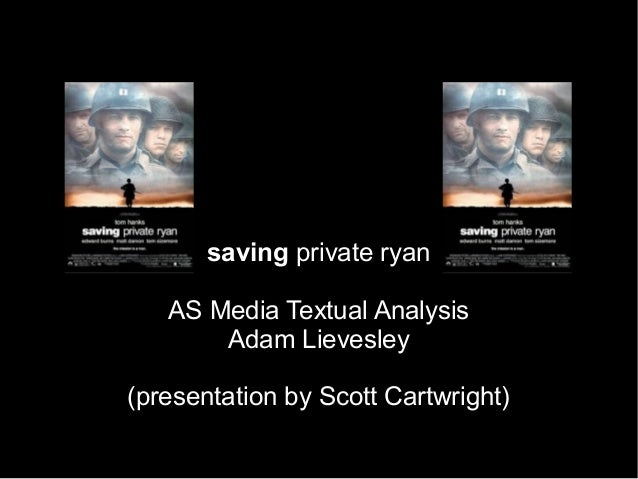 Analysis of Opening Sequences of Saving Private Ryan Essay