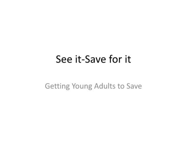 Savingsslideshow