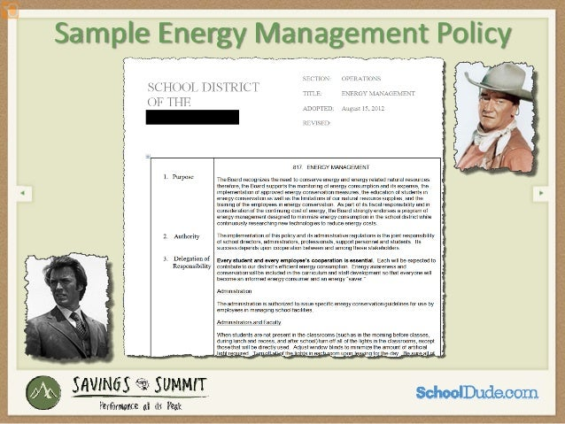Start Maintain An Energy Management Plan It Makes Good Sense From