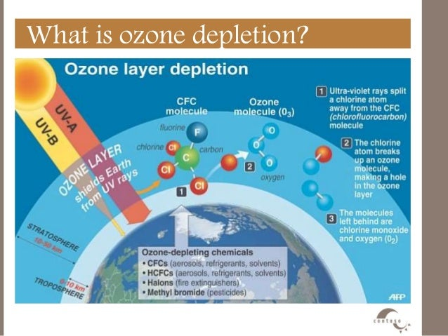 the atmospheric ozone layer Higher levels of carbon dioxide, however, do have an indirect effect on the ozone layer in the stratosphere what effect it has varies with which atmospheric layer it's in and on the latitude in the lower stratosphere -- closest to the surface and close to the equator -- increased co2 is slowing the production of new ozone, especially in the.