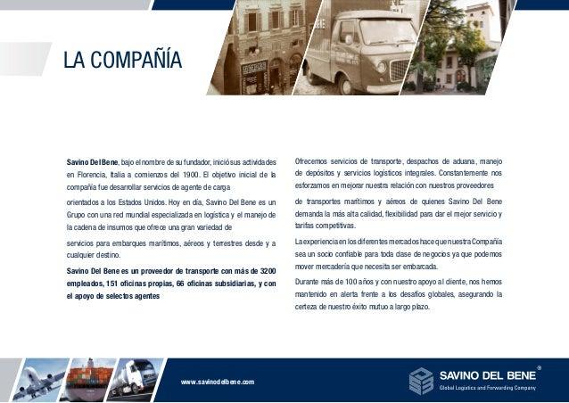 Savino Del Bene, Global Logistics and Forwarding Company Slide 2