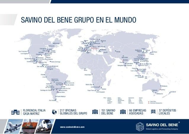 Savino Del Bene, Global Logistics and Forwarding Company Slide 3