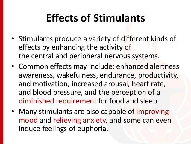 Effects Of Stimulants Abnormal Psychology - ...